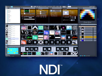 ArKaos GrandVJ implements NDI