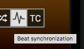 GrandVJ beat synchronization playmode
