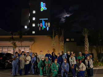 Arkaos helps health care workers on Florida