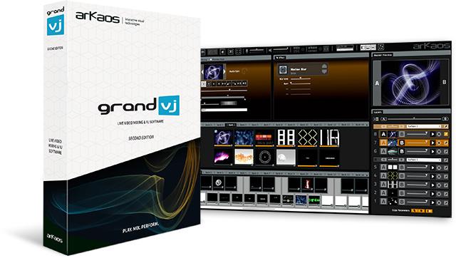 ArKaos GrandVJ 2 and box