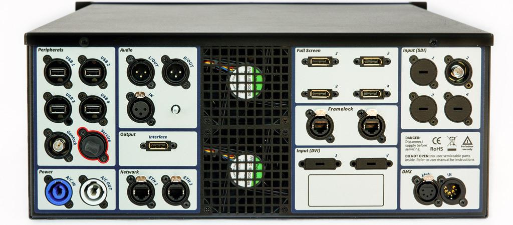 4K server front