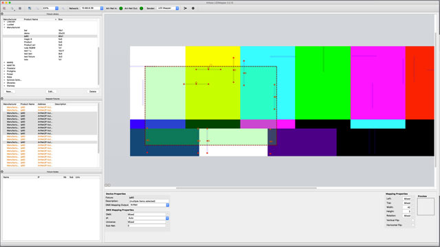 LED Mapper Extension for MediaMaster Pro