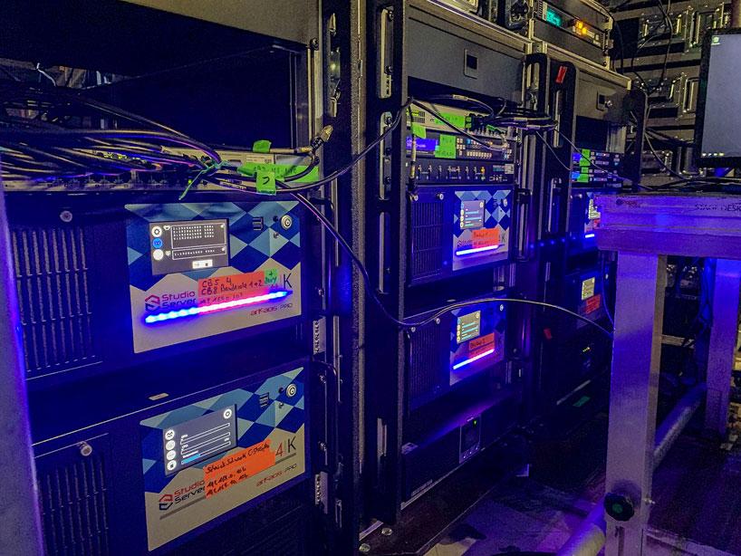 8 arkaos media server 4K studio