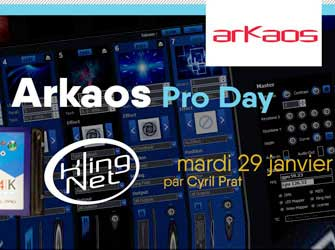 Freevox Formation Training ArKaos