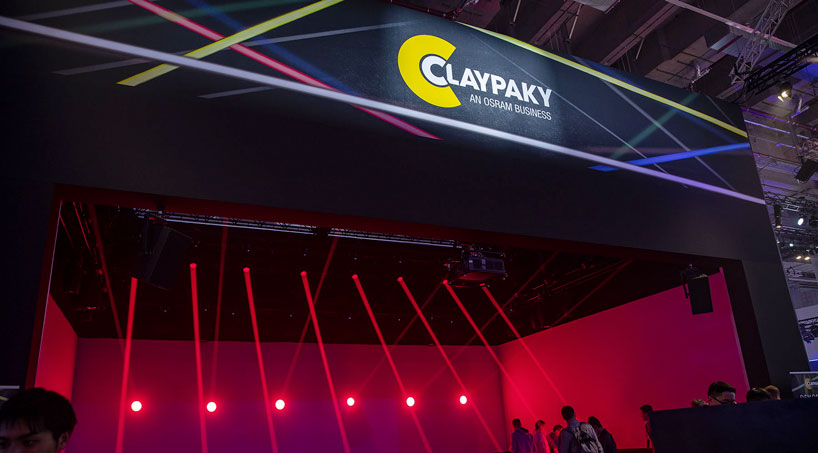 Claypaky stand picture