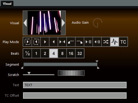 GrandVJ Play Mode
