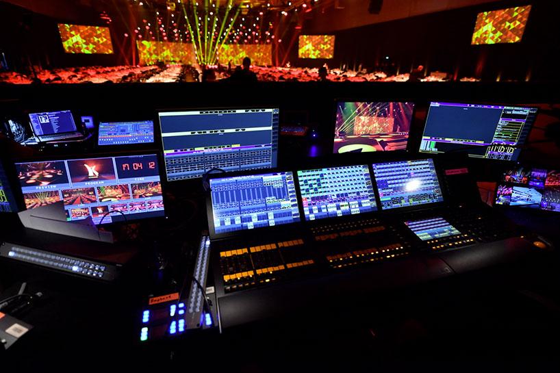 MediaMaster pro interface at the Kinderlachen Gala