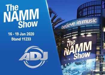 Namm Show 2020 ArKaos with ADJ announce news