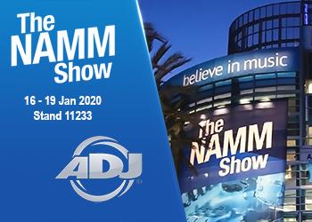 Namm Show 2020 ArKaos with ADJ announce news