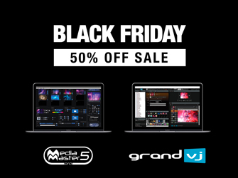 News ArKaos Black Friday 50% day off