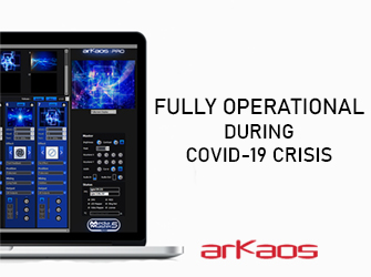 Arkaos fully operational during the COVID-19 crisis