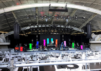 Lighting and Staging for Tina Arena