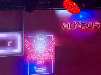 News ArKaos @ TPI awards 2019