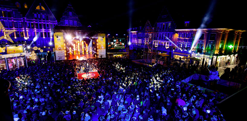 News ArKaos Control Solution for  Viva for Life Concerts Stage view