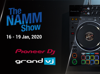PioneerDj announce with ArKaos @ Namm 2020