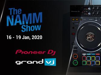 PioneerDj announce with ArKaos @ Namm 2020