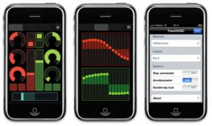 Touch OSC for iPhone and iPod Touch